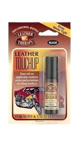 leather touch up dye leather therapy household touch up dye paint roll on applicator black leather