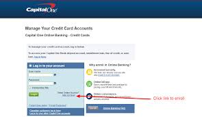 Browse and compare capital one visa credit cards. Capital One Credit Card Online Login Cc Bank