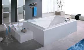 built in bathtub acrylic double deep