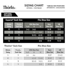 Thorlo Experia Socks Size Chart Thorlos Experia Coolmax Micro Mini Socks Various Colours And Sizes