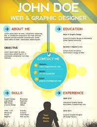 Sample Web Designer Resume Creative Resume Template Web Designer