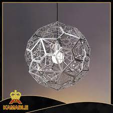 lovable modern metal chandelier ball hanging pendant