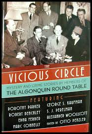image for the vicious circle mystery and crime stories by members of the algonquin round