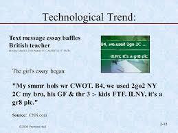 entrepreneurship successfully launching new ventures e ppt  technological trend text message essay baffles british teacher monday 3 2003