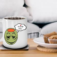 i olive you gifts white ceramic mug is the best gift for her our