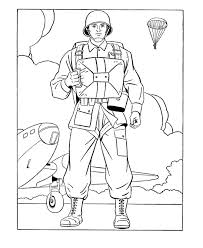 Military Coloring Pages At Getdrawingscom Free For Personal Use