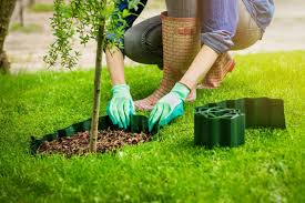 how to install landscape edging diy