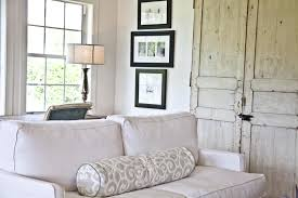 white coastal furniture. Coastal Furniture Ideas For Living Room In White Theme With Fabric Sofa And Light Weathered Cabinet A