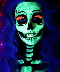 glow in the dark skeleton y skeleton makeup ideas you should wear this