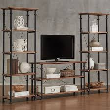Myra Vintage Industrial Modern Rustic 3-piece TV Stand Set by iNSPIRE Q  Classic - Free Shipping Today - Overstock.com - 15510421