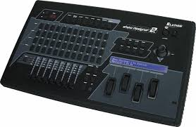 elation show designer 2cf dmx controller with compactflash drive