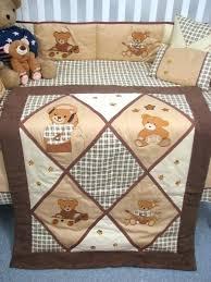 teddy bear crib bedding designs bedding sets classic teddy bears baby crib nursery bedding set