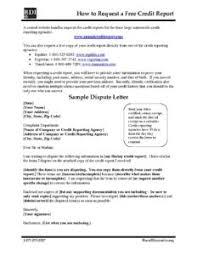 12 Free Credit Report and Sample Dispute Letter pdf 232x300