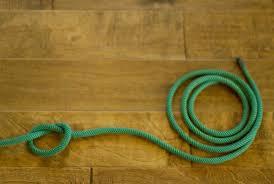 climbing rope rug step 1