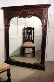 wall mirrors mercury glass wall mirror a very large french carved oak wallirrors