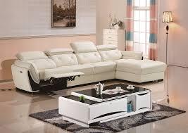 genuine leather recliner sofa