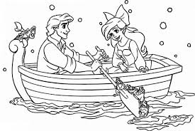 Small Picture The Little Mermaid Coloring Pages Ariel Ariels Daughter Shock