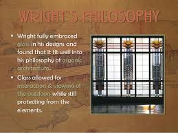 Wright's Philosophy . The Frank Lloyd ...