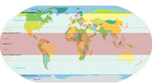 World Climate Zone Chart Temperate Climate Wikipedia