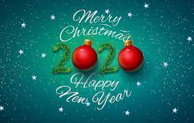 Merry Christmas And Happy New Year 2020 ...