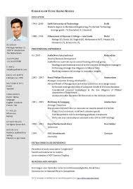 Best Resume Format The Best Resume Format In Word Topgamers Xyz