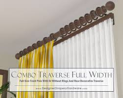 36 best decorative traverse rods images on curtains dry and curtain rods