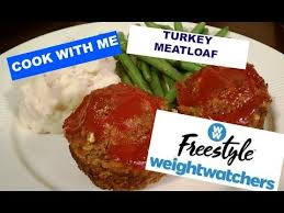 cook with me turkey meatloaf weight watchers freestyle