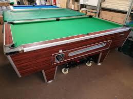 7ft Superleague pool table - Bernard Harvey Pool Tables Cornwall