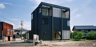 the residence is located in an industrial area and utilizes locally sourced materials all images by takeshi yamagishi