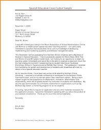 Shining Design Education Cover Letter 6 Example Of A Teacher With
