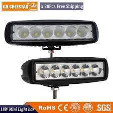 6 Inch Led Work Light Us 214 92 18watts Led Spot Flood Work Light Worklight 9 32v 4wd 12 Volt 6inch Led Work Lights For Off Road Vehicle Suv Car Trucks X20pcs In Light