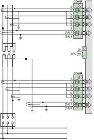 how to wire current transformers ct on sepam series 80 relay for main