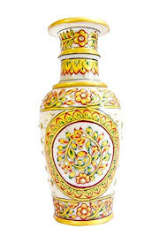 Small Picture Buy Marble Handicraft Vase perfect home decor Online at Low