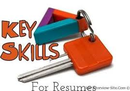 Key Skills In Resumes: Skill Based Resume & Skills Summary Examples