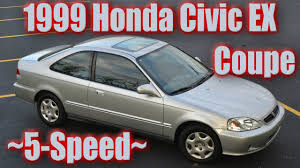 1999 Honda Civic EX Coupe Silver 5-Speed Restoration and Photos ...