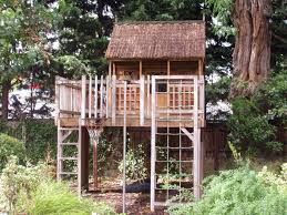 free treehouse plans plans build building easy modern free standing tree house for simple free