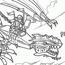Small Picture Ninjago Coloring Pages And Book Uniquecoloringpages Printable Lego
