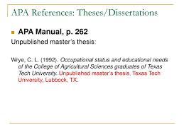Citation Apa Format 004 Dissertation Apareferences3atheses2fdissertations Apa