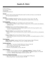 Excellent Ideas Pediatric Nurse Resume Objective Idea Nursing 9