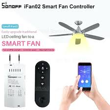 wifi ceiling fan fan smart switch convert fan to smart control adjust fan sd dimmer controller