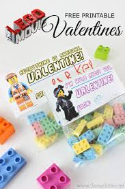 Legos For Free Lego Valentines With A Free Lego Movie Printable Classy Clutter