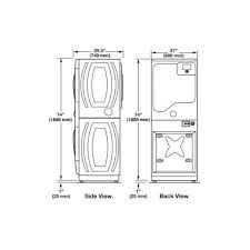 washer dryer clearance. Delighful Washer Image Result For Stackable Washer Dryer Clearance Dimensions To Washer Dryer Clearance 7