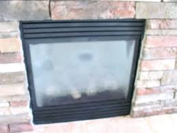 cleaning gas fireplace glass s er best way to clean doors with vinegar cleaning gas fireplace glass