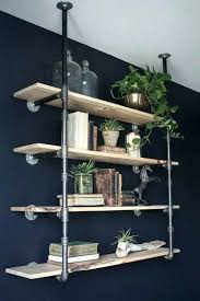 industrial style wall shelving industrial style wall shelving a great tutorial for installing industrial style open