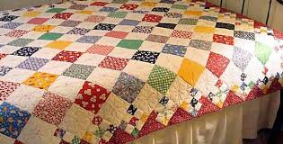 Patchwork Quilt Patterns Inspiration Diamond Patch Quilt Pattern Comes In 48 Sizes Quilting Digest
