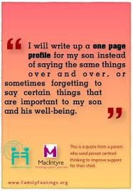 17 best images about one page profiles the old i will write up a one page profile for my son instead of saying the same