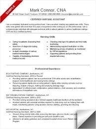 Cna Resume No Experience Template New Cna Resume No Experience Engneeuforicco