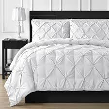 comfy bedding double needle durable