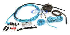 skar audio sk amp gauge amplifier wiring kit rca interconnects skar audio sk amp8