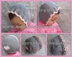 Baby Bonnet Knitting Pattern Unique Decoration